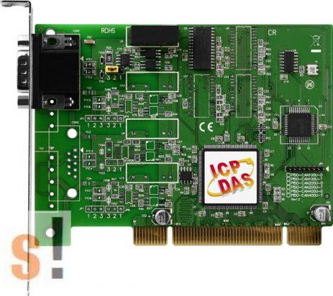 PISO-CAN100U-D  # PCI kártya/Universal/CAN/1 port/D-sub/szigetelt, ICP DAS
