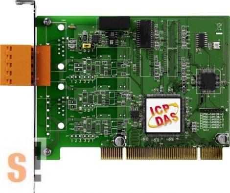 PISO-CAN100U-T  # PCI kártya/Universal/CAN/1 port/sorkapocs/szigetelt, ICP DAS