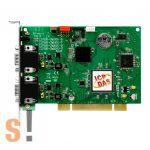 PISO-CM200U-D # Intelligens PCI kártya/Universal/CAN/2 port/D-sub/szigetelt, ICP DAS