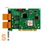 PISO-CM200U-T # Intelligens PCI kártya/Universal/CAN/2 port/sorkapocs/szigetelt, ICP DAS