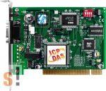 PISO-DNM100U-D # PCI kártya/Universal/CAN/Master/DeviceNet/D-Sub 9pin/szigetelt, ICP DAS