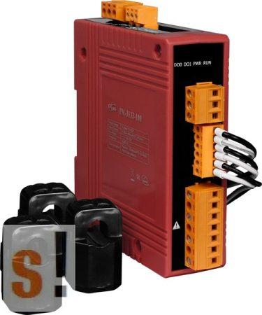 PM-3133-400P # Teljesítmény mérő/Power Meter/RS-485/Modbus RTU/3 fázis/400 A, ICP DAS