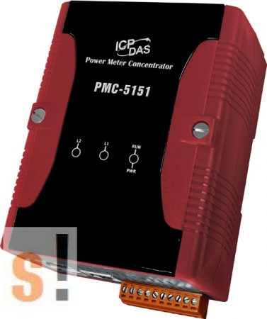 PMC-5151-EN # Power Meter Concentrator/Modbus TCP/RTU, ICP DAS ( English ) (RoHS)