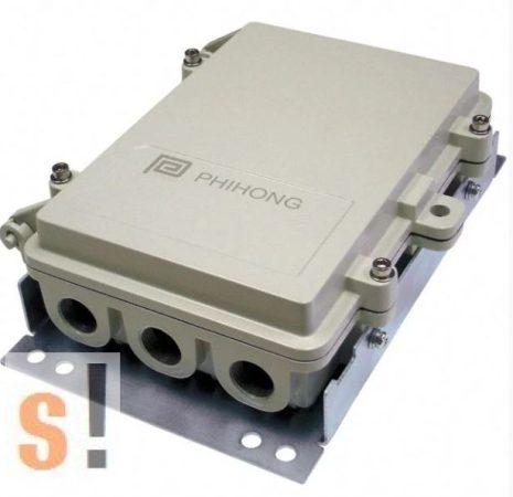 POE33U-1AT # PoE Injector/tápfeladó/56V/33.6W/600mA/10/100/1000Mbps/IP67 védettség/Kültéri, Phihong