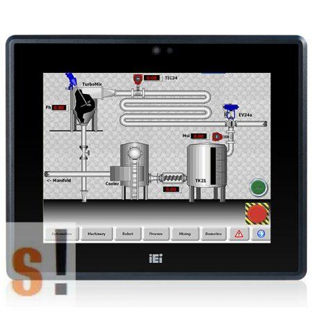 "PPC-F10B-BT-J1/2G/R-R10 # 10,4"" Panel PC/Érintőképernyős/Touch Panel PC//450cd/Intel Celeron N2807 processzor/2GB RAM/IP65 front panel/IEI"