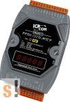 PPDS-721D-MTCP # Soros/PoE-Ethernet/Konverter/Modbus/Átjáró/Programozható/1x RS-232/1x RS-485/Ethernet/10/100/6x DI/7x DO/LED, ICP DAS
