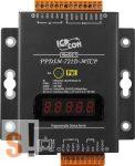PPDSM-721D-MTCP # Soros/Ethernet/Konverter/Modbus/Átjáró/Programozható/1x RS-232/1x RS-485/Ethernet/10/100/6x DI/7x DO/fém ház/LED, ICP DAS