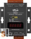 PPDSM-734D-MTCP # Soros/PoE-Ethernet/Konverter/Modbus/Átjáró/Programozható/1x RS-232/1x RS-485/1x RS-422/485 port/Ethernet 10/100/4x DI/4x DO/fém ház/LED, ICPDAS