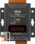 PPDSM-752D-MTCP # Soros/PoE Ethernet/Konverter/Modbus/Átjáró/Programozható/1x RS-485/4x RS-232 port/Ethernet 10/100/fem haz/LED, ICPDAS
