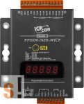 PPDSM-762D-MTCP # Soros/Ethernet/Konverter/Modbus/Átjáró/Programozható/1x RS-485/5x RS-232 port/Ethernet 10/100/1x DI/2x DO/fém ház/LED, ICPDAS