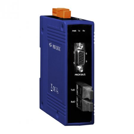 PROFI-2542-SC # Profibus - Single Mode Fiber konverter, SC, ICP DAS