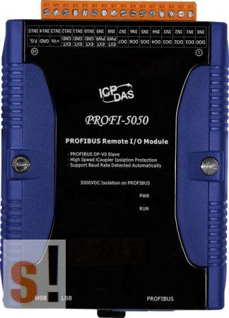 PROFI-5050 CR # PROFIBUS I/O Modul/DP-V0/Slave/16DI/8DO, ICP DAS