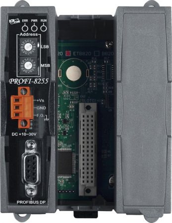 PROFI-8255 # PROFIBUS I/O Unit/DP-V0-V1/Slave/2slot, ICP DAS