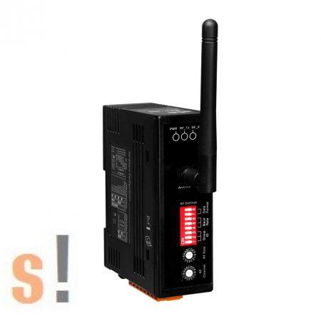 RFU-400 CR # 400 MHz vezeték nélküli rádió modem/ RS-232/RS-485 port/Wireless Modem, ICP DAS, ICP CON
