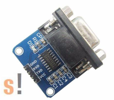 RS232-TTL # RS-232 - TTL konverter/bidirekcionális, MH