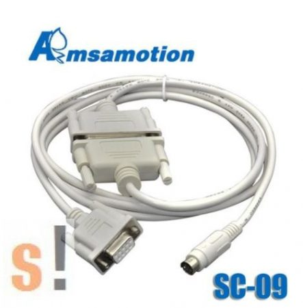 SC-09 # RS-232 programozó kábel/MITSUBISHI MELSEC FX és A sorozatú PLC-hez
