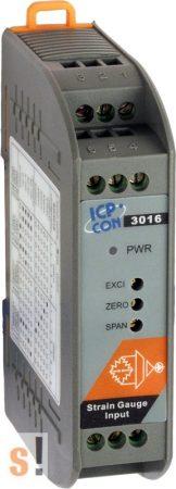 SG-3016 # Jelkondícionáló/Bemeneti modul/Nyúlásmérő/1x AI/1x AO/1x VO, gerjesztő feszültség ki/szigetelt, ICP DAS