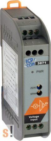 SG-3071 # Jelkondícionáló/Be/Ki modul/DC feszültség/1x AI/1x AO/szigetelt, ICP DAS