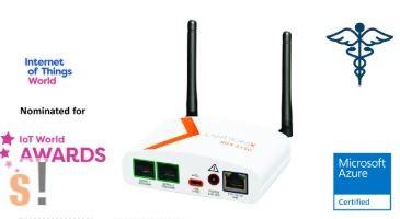 SGX51501M2ES # SGX 5150 MD vezeték nélküli IoT átjáró/gateway/orvosi/medikai/WLAN, WiFi 802.11a/b/g/n/ac/2.4GHz, 5GHz/Ethernet/RS-232/USB/LANTRONIX