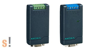 TCC-80i #Szigetelt  RS-232 - RS-422/485 konverter/port által táplált/2,5 kV szigetelés/, MOXA