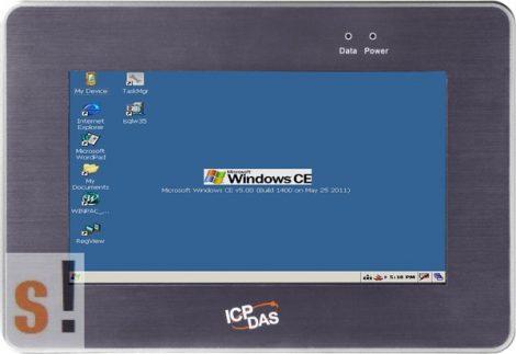 """TP-2070 # 7"""" Ipari érintőképernyős monitor/Touch Monitor/RS-232/USB/TFT LCD/350cd/800x480/IP65 védettség, ICP DAS"""
