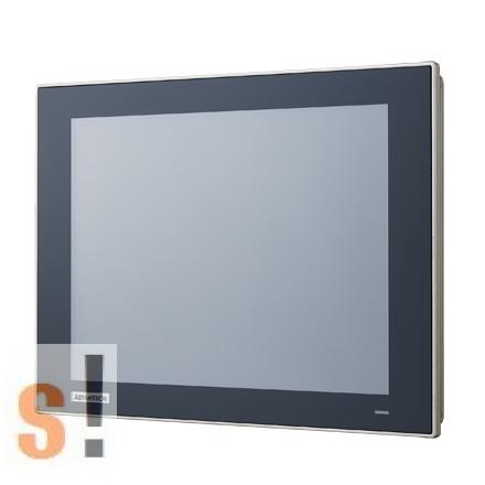 "TPC-1251T-E3BE # Érintőképernyős panel PC/True flat screen/12.1"" TFT LED LCD/ Thin-Client Terminal/Intel® Atom™ E3827 processzor/1.75 GHz dual-core /4GB RAM/IP66 front, Advantech"