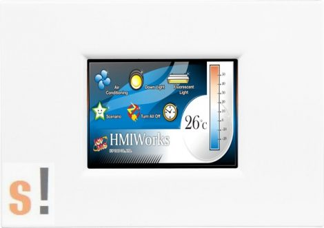 """TPD-280-M1 # 2.8"""" HMI Panel/RS-485/Modbus RTU, ICP DAS"""