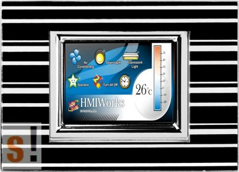 """TPD-280-M3 # 2.8"""" HMI Panel/RS-485/Modbus RTU, ICP DAS"""