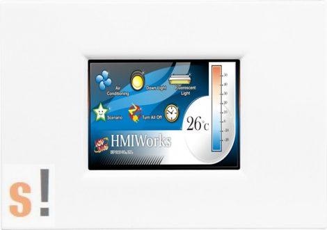 """TPD-283U-M1 # 2.8"""" HMI Panel/RS-485/USB/PoE Ethernet/Modbus TCP/RTU, ICP DAS"""