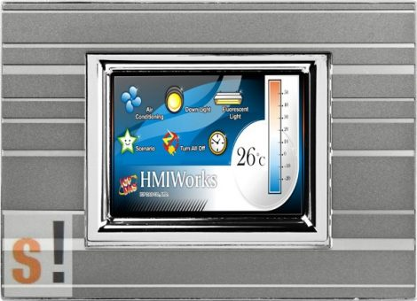 """TPD-283U-M2 # 2.8"""" HMI Panel/RS-485/USB/PoE Ethernet/Modbus TCP/RTU, ICP DAS"""