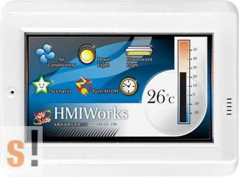 """TPD-433 # 4.3"""" HMI Panel/Ethernet/RS-485/USB/Modbus TCP/RTC, ICP DAS"""