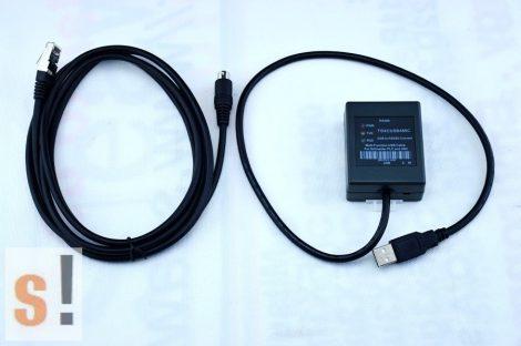 TSXCUSB485C # Schneider PLC/HMI multi funkciós USB programozó kábel, USB/RS-485, tartozék TSXCRJMD25 kábel, TSXCUSB485
