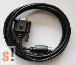 TSXPCU1030 # Schneider PLC programozó kábel, RS-232