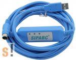 TSXPCX3030+ # Szigetelt USB konverter/adapter/programozó kábel Schneider PLC-hez