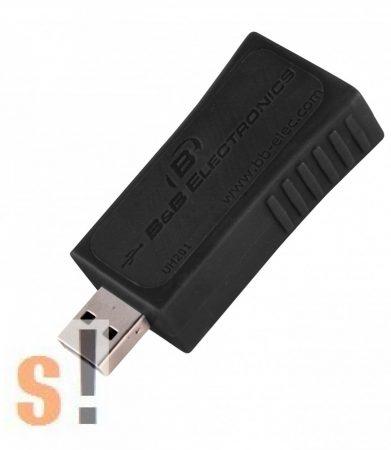 UH201 # USB  leválasztó adapter/USB Isolator/ 2 kV, B+B SmartWorx