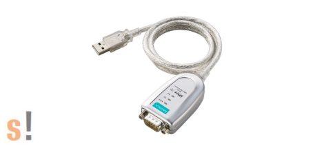 UPort 1110 # USB - soros RS-232 konverter/Ipari megbízhatóság és minőség/ MOXA