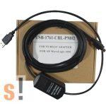 USB-1761-CBL-PM02 # Allen-Bradley Rockwell MicroLogix 1000 SERIES USB PLC programozó kábel