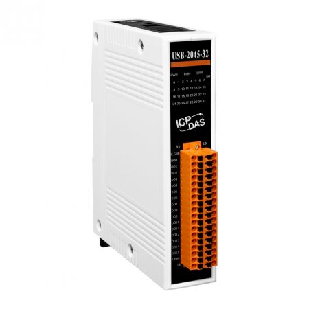 USB-2045-32 # USB I/O Modul/32x DO/Túlterhelés védelem, ICP DAS, ICP CON