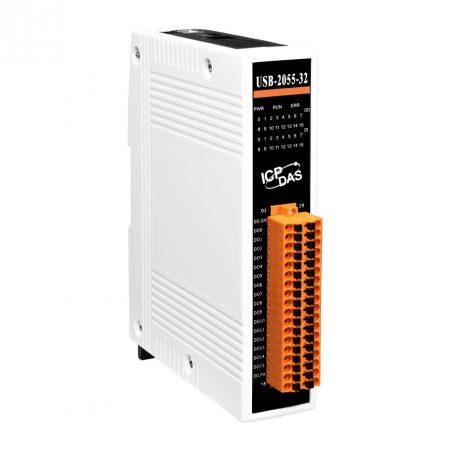 USB-2055-32 # USB I/O Modul/16x DI/16x DO/szigetelt, ICP DAS, ICP CON