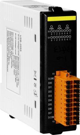 USB-2055 # USB I/O Modul/8x DI/8x DO/szigetelt, ICP DAS, ICP CON
