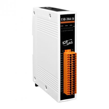 USB-2064-16 # USB I/O Modul/16x relé kimenet, RO, ICP DAS, ICP CON