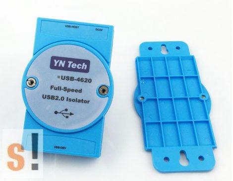 USB-4620 # USB leválasztó/isolator/3kV szigetelés/ipari/DIN sínre, YN Tech