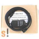 USB-CNV3 # USB/RS422 programozó kábel/adapter Fuji N PLC-hez