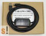 USB-GPW-CB02 # Pro-face programozó kábel/USB portos