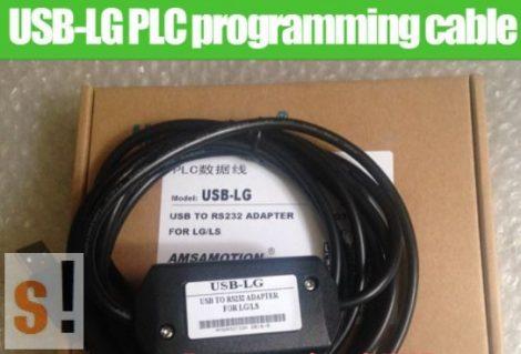 USB-LG # LG PLC programozó kábel/USB/RS-232
