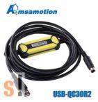 USB-QC30R2 # USB/RS232 adapter/konverter/programozó kábel MITSUBISHI Q PLC