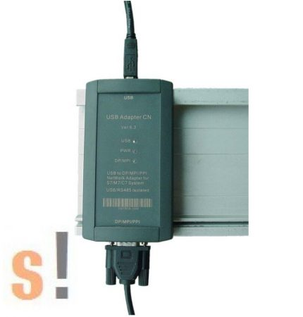 USB Adapter CN # USB - Profibus/MPI/PPI programozó kábel/adapter/konverter/S7/M7/C7/USB/RS-485/szigetelt/6ES7 972-0CB20-0XA0