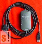 USB/PPIM+ # USB programozó kábel/Siemens S7-200/PPI/Multi-master/USB/RS-485/PPI/6ES7901-3DB30-0XA0