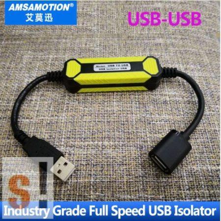 USB to USB # USB optikai leválasztó/isolator/2500V/ipari/USB 2.0 Full speed/Amsamotion