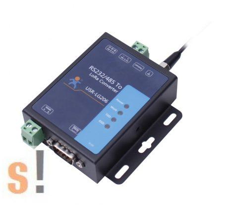USR-LG206-H-P # RS-232/485-LoRa konverter modem/ipari vezeték nélküli adatkommunikáció/3500 méter átviteli táv, USR IOT